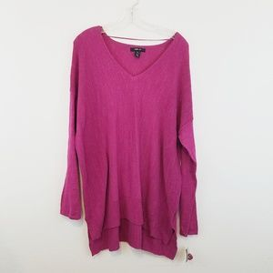 Style & Co Pink Cotton Tunic XL New #w247
